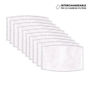 face mask filters - Casetify Interchangeable PM 2.5 Carbon Filters