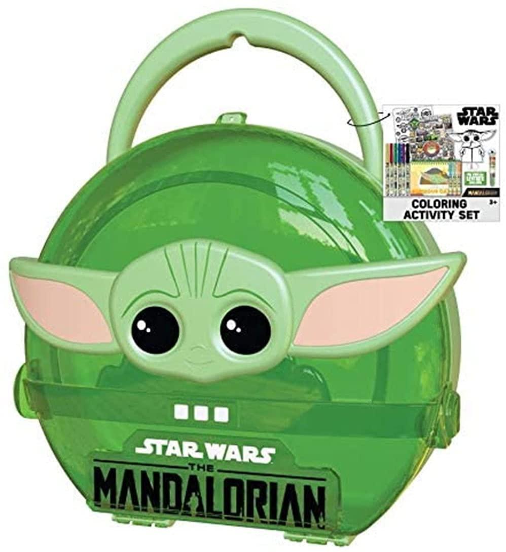 Baby Yoda coloring kit