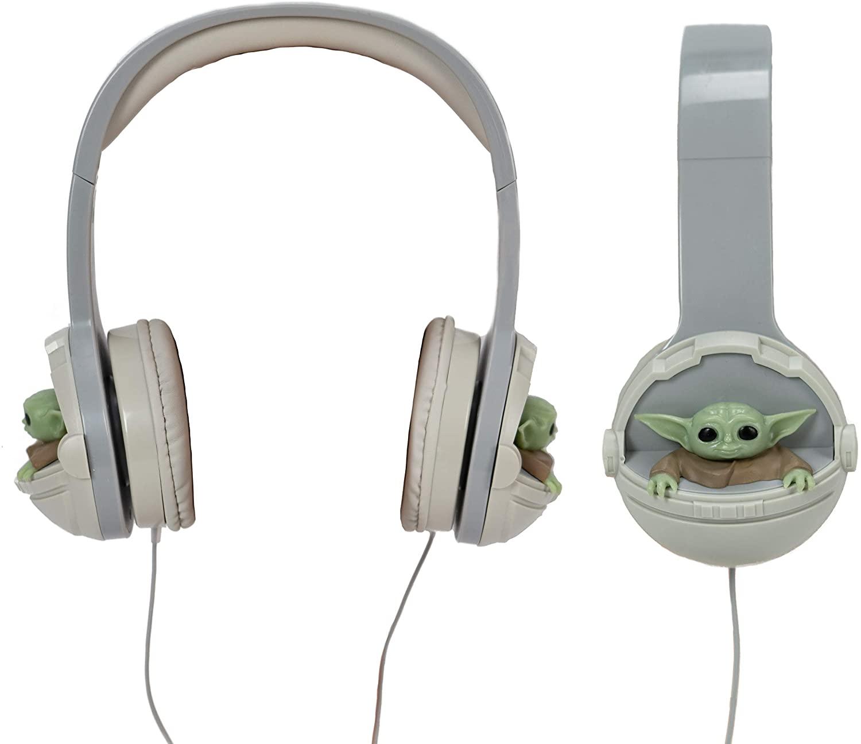 Baby Yoda headphones