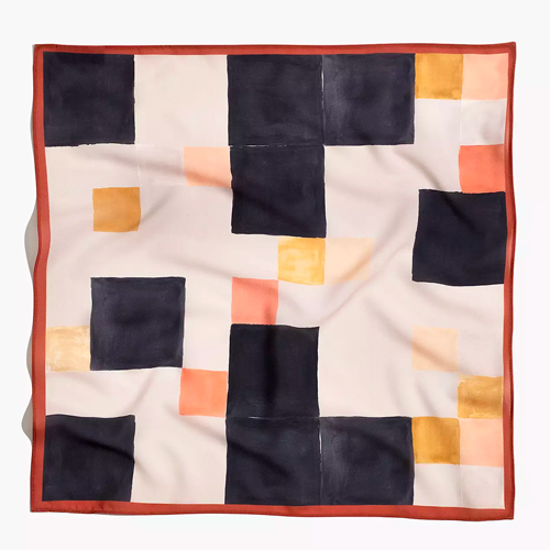 Madewell Printed Neck Scarf