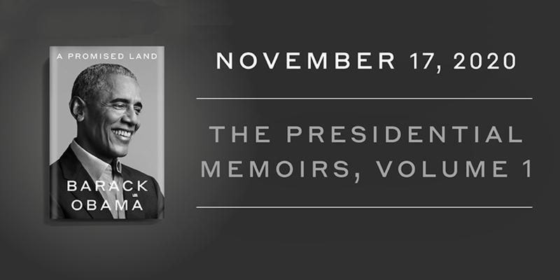 barack obama memoir - a promised land release date