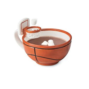 basketball mug, gifts for sports fans