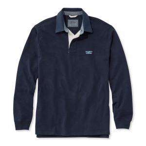 L.L.Bean Lakewashed Rugby Shirt