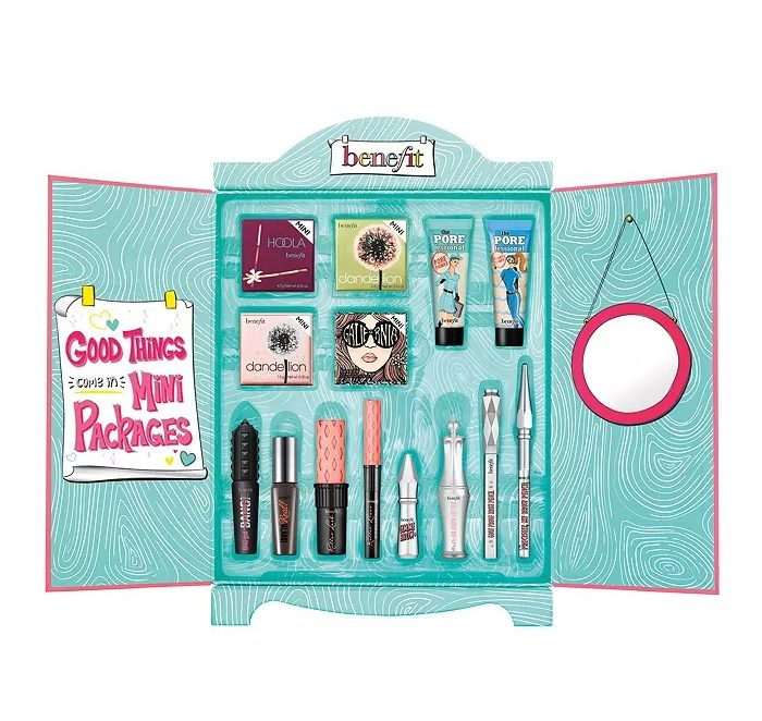 Benefit Cosmetics Superstar Wardrobe Minis Makeup Value Set