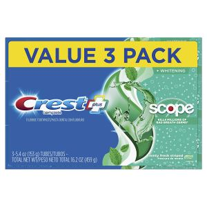 Crest + Scope whitening toothpaste, best whitening toothpaste