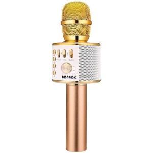 BONAOK Wireless Karaoke Microphone, kids karaoke machines