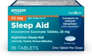amazon basics sleep aid, best over the counter sleep aid