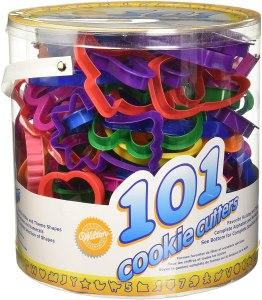 Wilton Cookie Cutters 101-Piece Set, best cookie cutters