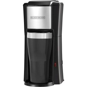 black + decker single serve coffee maker