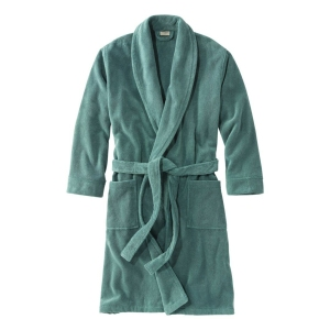 L.L.Bean Terry Cloth Organic Cotton Robe
