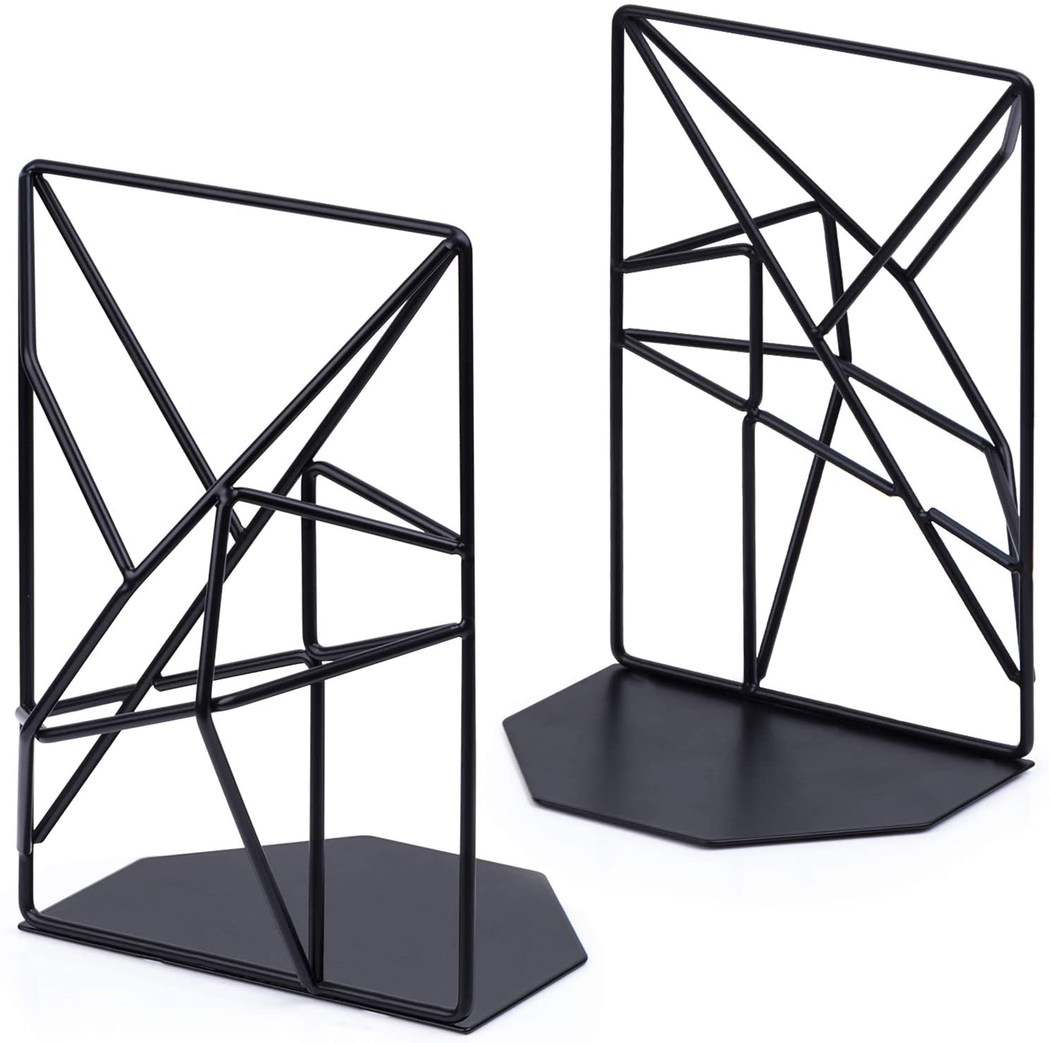 geometric bookends