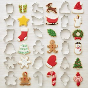 Wilton holiday cookie cutter set, cookie cutters