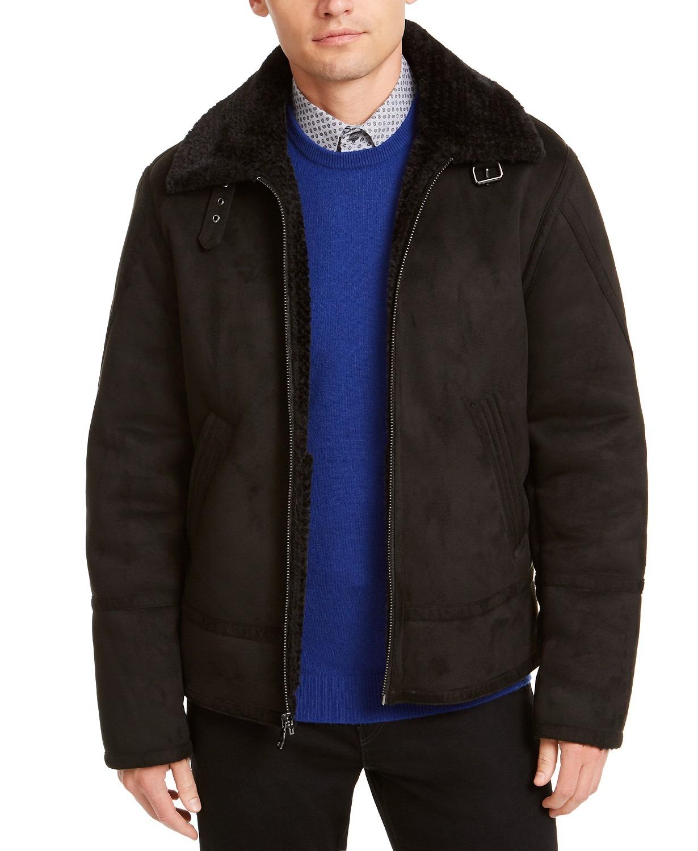 calvin-klein-short-faux-shearling-jacket