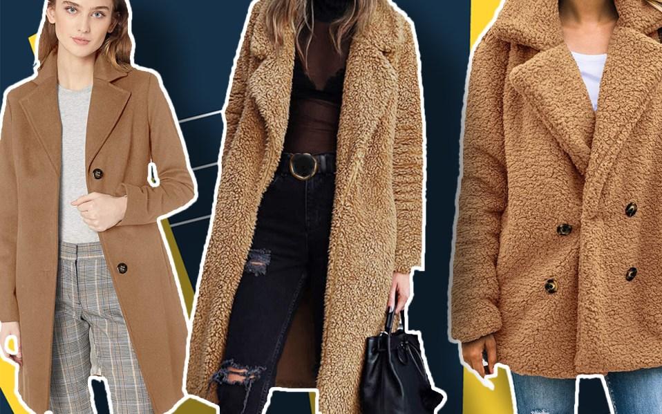 camel coats for women, best camel
