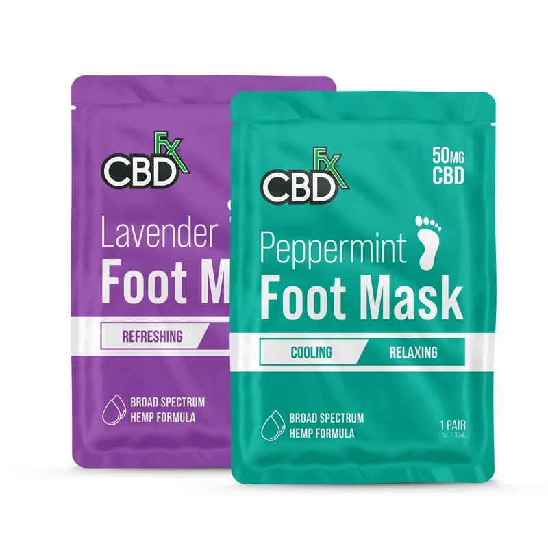 best CBD gifts - CBDfx lavender & peppermint foot soak