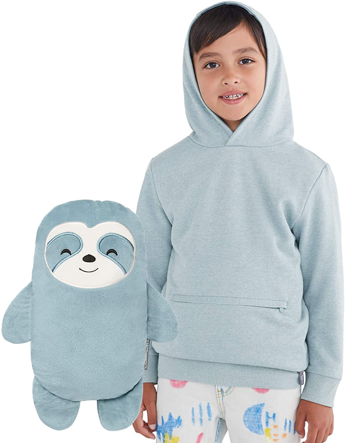 cubcoats sao the sloth transforming hoodie