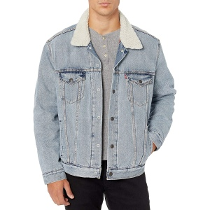 Levi's Sherpa Lined Trucker Jacket, best shearling jacket