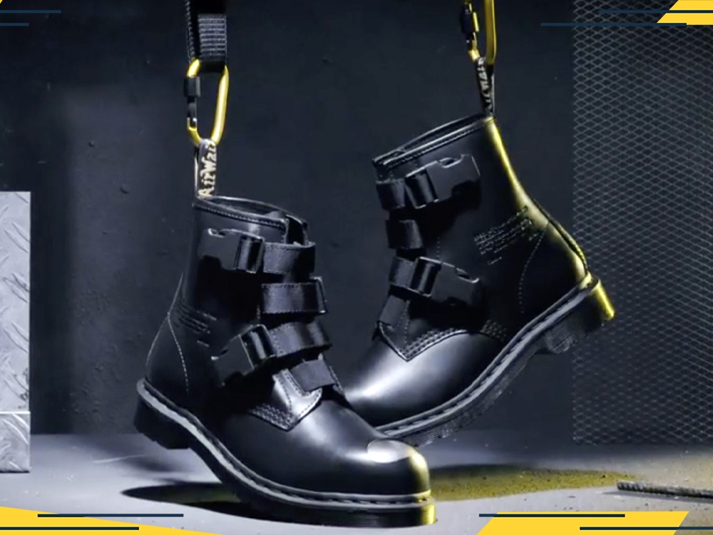 Dr. Martens Is Releasing a Military-Inspired Steel-Toe Boot
