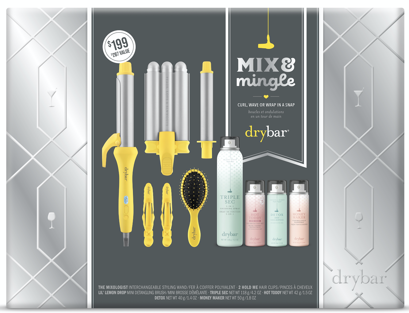 Drybar Mix and Mingle Interchangeable Styling Iron Set