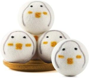 duck wool dryer balls, best stocking stuffers