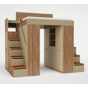 Casa Collection Urbano King Loft Bed