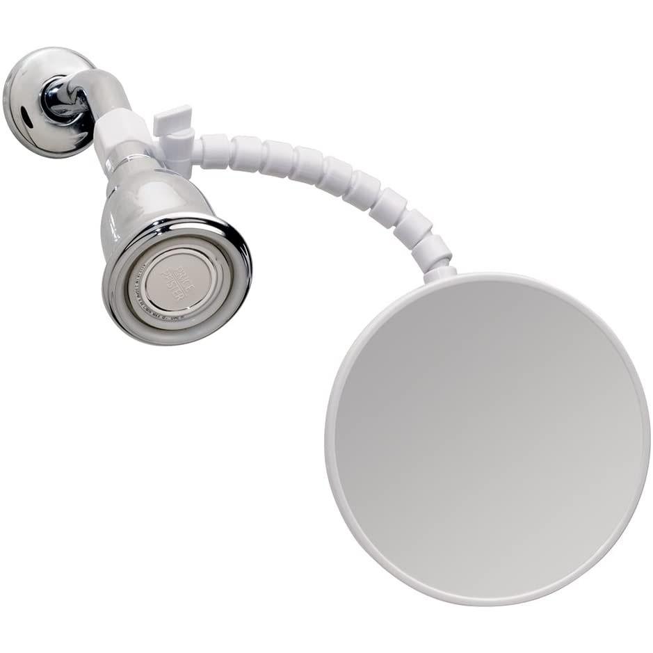iDesign 20301 Fog-Free Small Shower Shaving Mirror