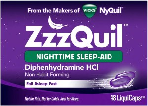 Zzzquil sleep aid capsules, best over the counter sleep aid