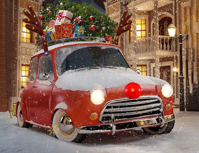 christmas car decorations