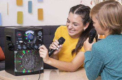 give your favorite budding pop star one of these karaoke machines for kids
