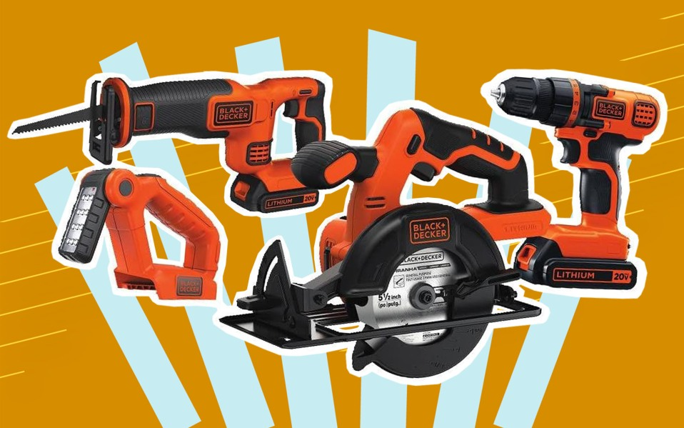 BLACK+DECKER 20V MAX Cordless Drill Combo