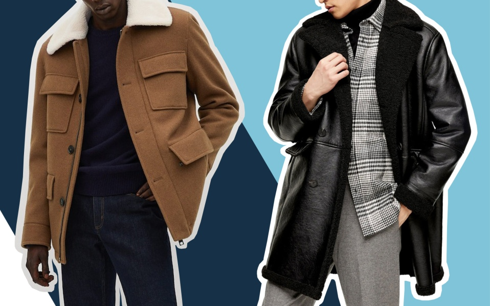 best shearling jackets and coats