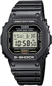 g shock watches: Casio Men's G-Shock Quartz Watch (Model: DW5600E-1V)