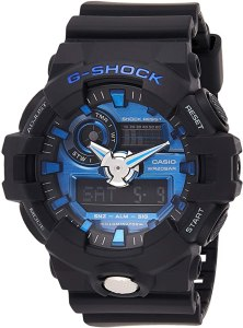 g shock watches: Casio Men's 'G Shock' Quartz Resin Casual Watch (GA-710)