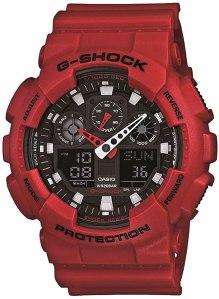 g shock watches: Casio Men's GA-100 XL Series G-Shock Quartz Watch