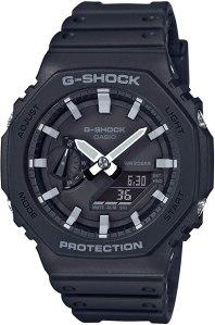 g shock watches: Casio G-shock Carbon Core Guard Ga-2100