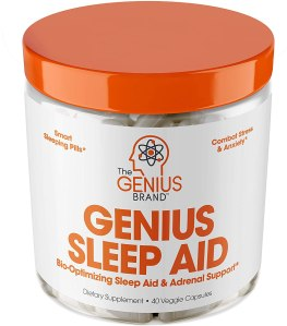 genius sleep aid, best over the counter sleep aid