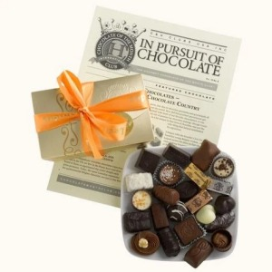 gourmet chocolate of the month club, snack subscription boxes
