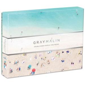 Galison Gray Malin 2-Sided Jigsaw Puzzle