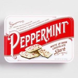 Peppermint Bark Tin