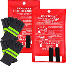 everlit xl fire blanket