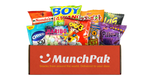 MunchPak snack subscription box, snack subscription boxes
