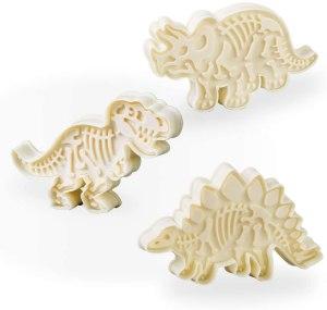 jurassic dinosaur cookie cutter set, cookie cutters
