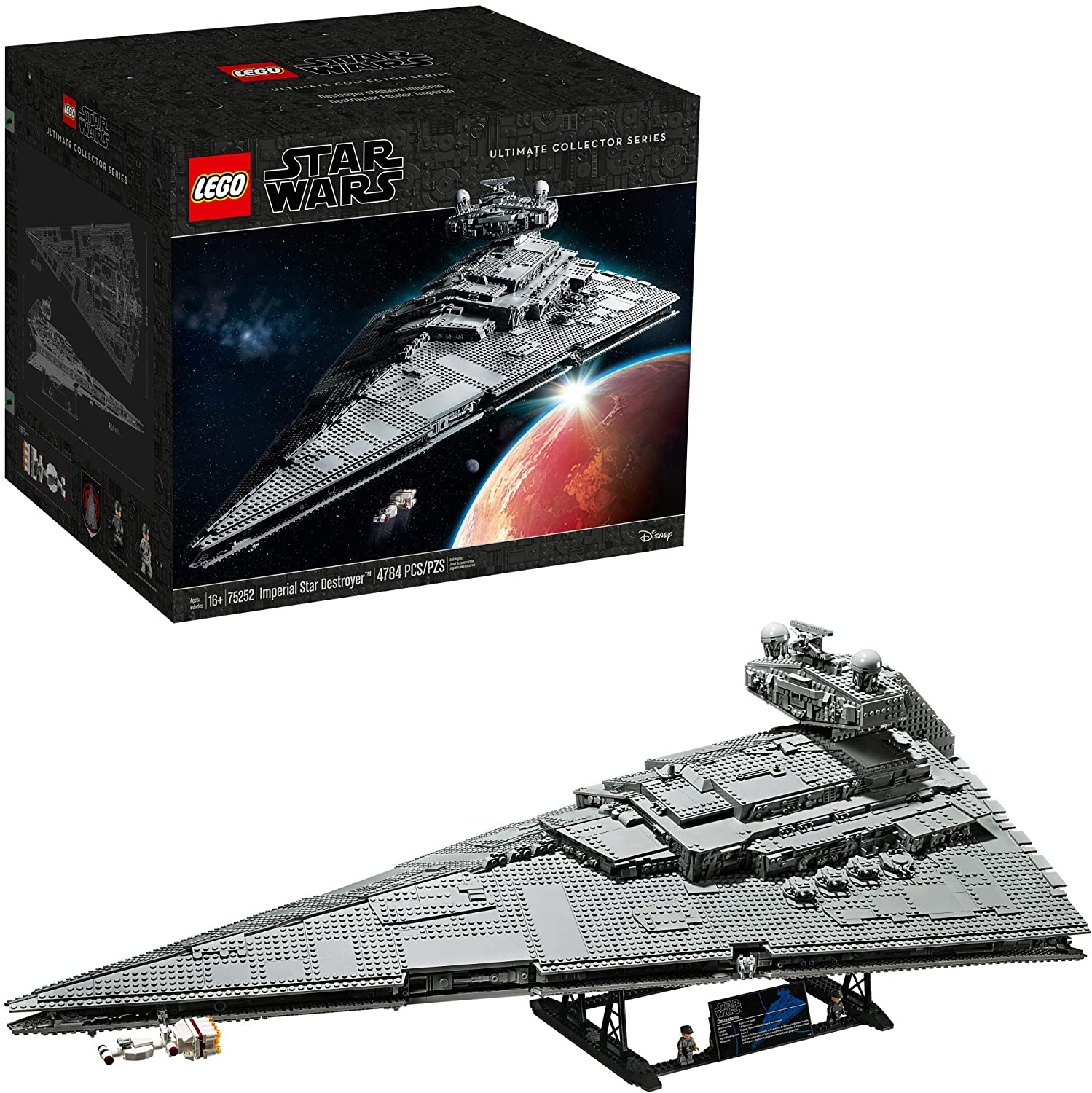 star wars lego set for adults, imperial star destroyer