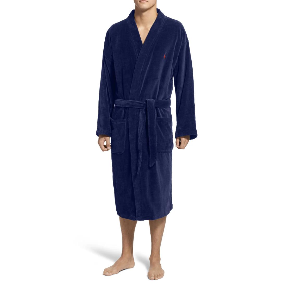 olo Ralph Lauren Cotton Fleece Robe