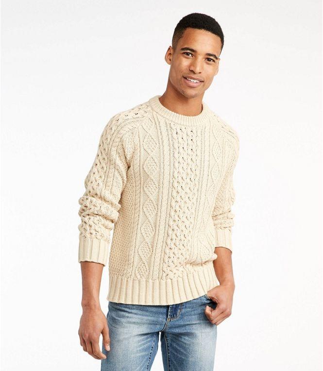 ll-bean-Mens-Signature-Cotton-Fisherman-Sweater