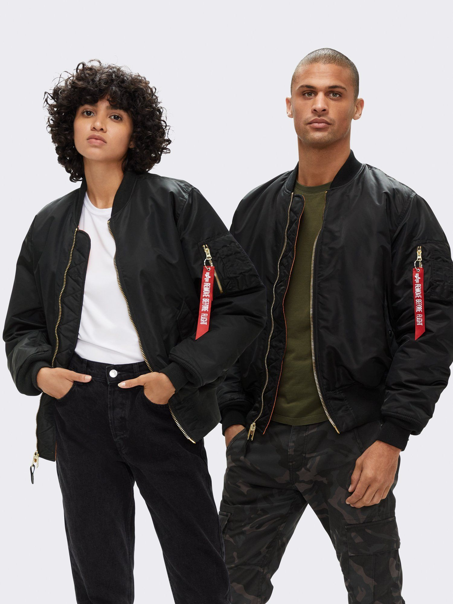 alpha industries ma-1 bomber jacket