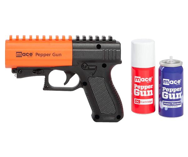 mace pepper spray guns