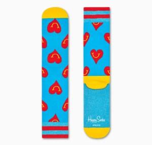 Happy Socks Athletic Smile Heart Socks