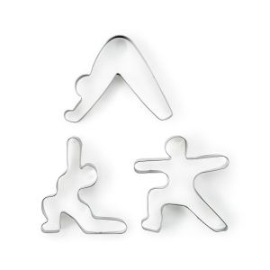 mindful eating cookie cutter set, cookie cutters