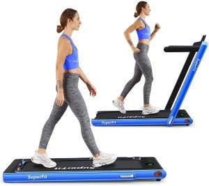 Goplus 2-in-1 folding treadmill, best treadmill